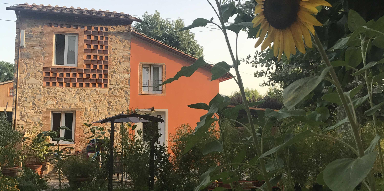 Villa Amoroni 2 Cuori 1 capanna girasole